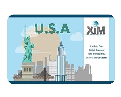XIM USA Prepaid Card: Amazon in: Electronics