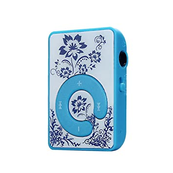 Mini reproductor de MP3 con diseño de flores, reproductor de ...