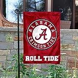 Alabama Crimson Tide Circle Logo Garden Flag