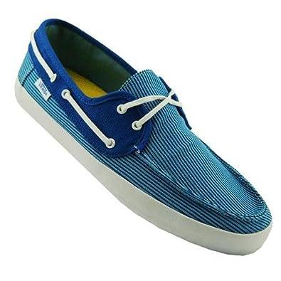 Pinstripe Vans Chaussures Chauffeur Bateauhomme Bleu beW29IDEHY