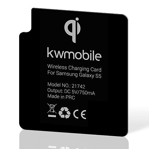 18 opinioni per kwmobile Ricevitore per ricarica wireless per Samsung Galaxy S5 ricevitore