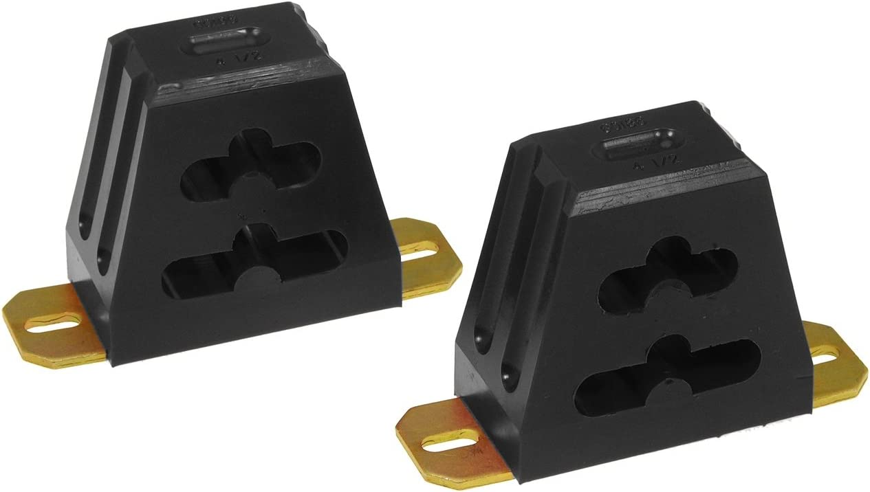 Prothane 1-1302-BL Black 1-1//2 Extended Front Bump Stop Kit