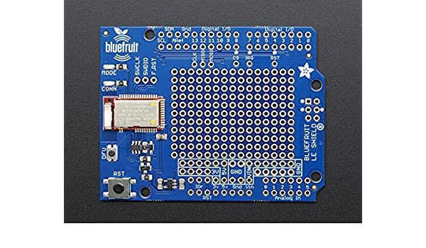 Adafruit Bluefruit LE Shield - Bluetooth LE for Arduino: Amazon ca