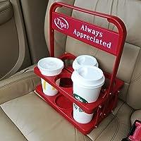 Foldable Beverage Carrier for Ubereats Deliveroo Menulog Drivers Food Delivery Drivers