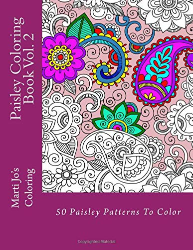 Paisley Coloring Book Vol 2 product image