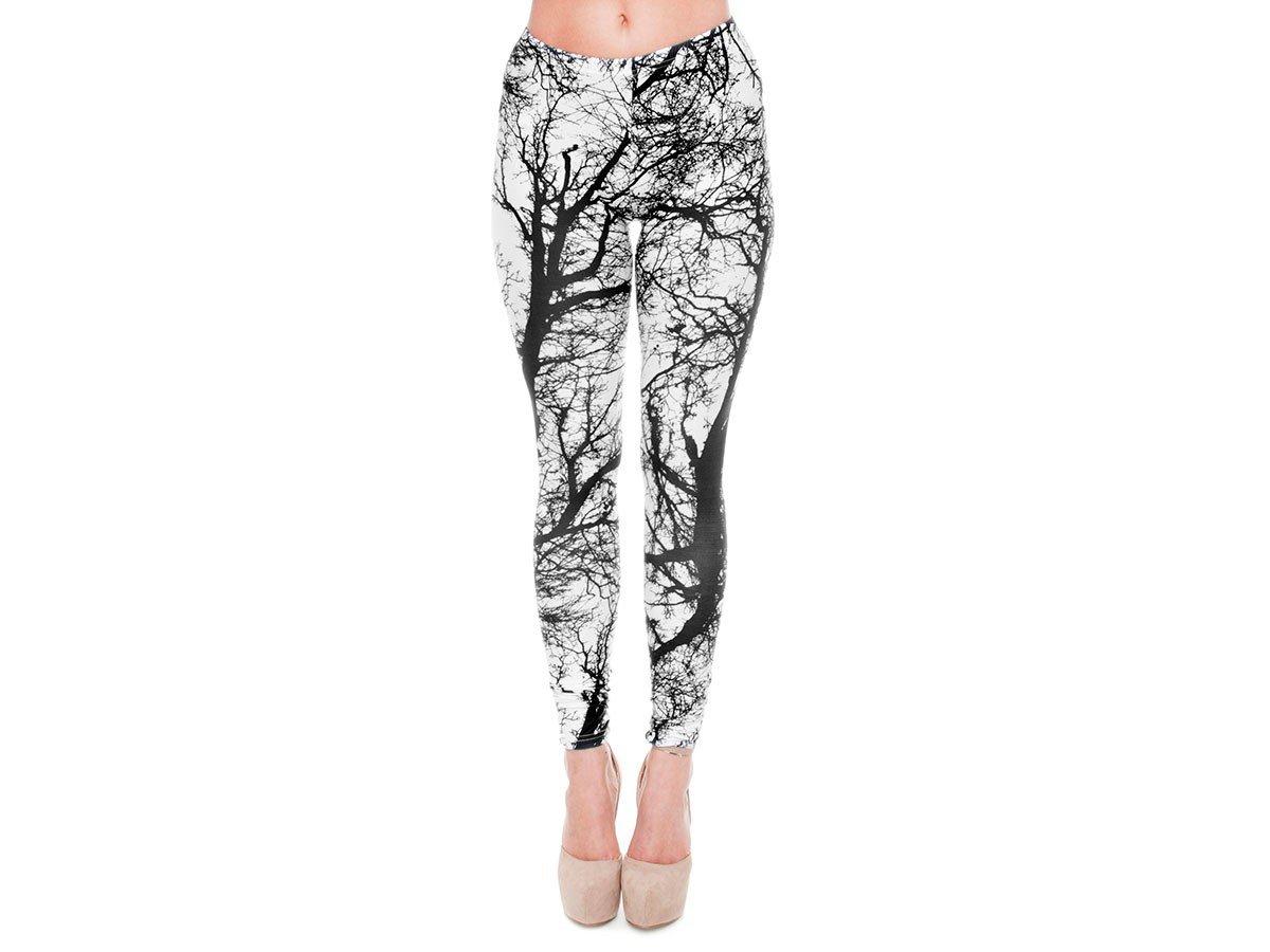 Leggings da Donna | Taglia Unica | Diversi Colori e Disegni | Aderenti | Sportivi | Elastici | Pantaloni Yoga | Fitness | Confortevoli | Ragazza | Bambina, Leg-01-32:LEG-001 Marijuana Verde Alsino