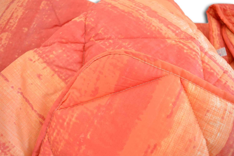 Centesimo Web Shop Trapunta Piumone in 3 Misure Prodotta in Italia Invernale Calore 5 Sfumata Degrade Multicolore Matrimoniale Arancione