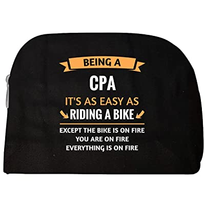 Funny Cpa Design Gift - Cosmetic Case durable service
