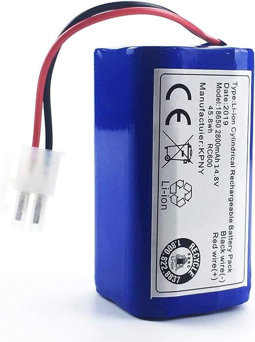 WOSOSYEYO Batería Original para ilife V7s A6 V7s Pro X620 Piezas ...
