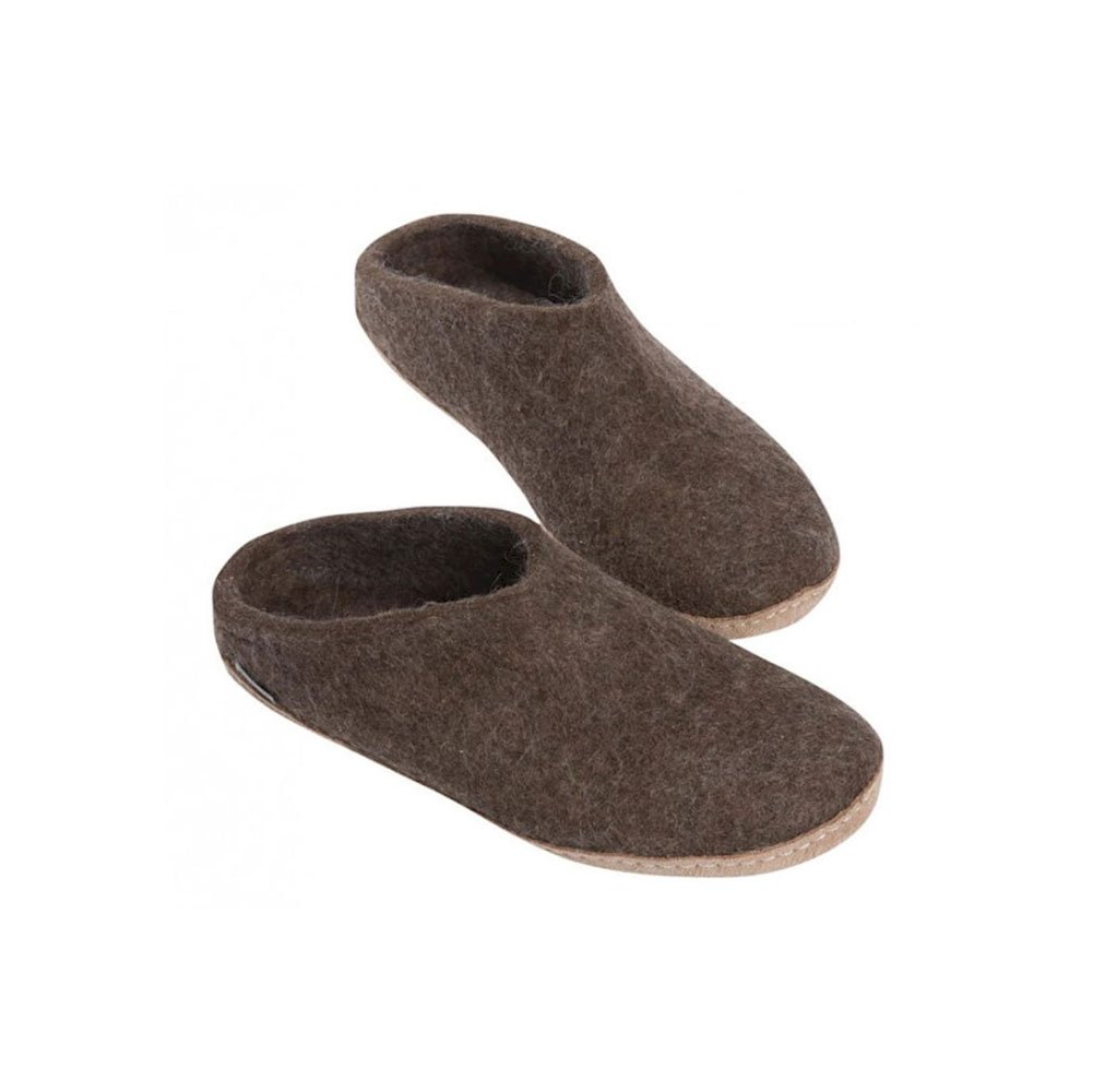 Glerups Unisex Model B Slipper B006H3TQ22 40 (US Women's 10-10.5) B(M) US|Naturebrown