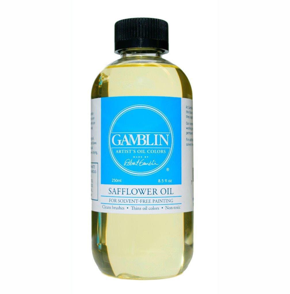 Gamblin Safflower Oil 8Oz MACPHERSON