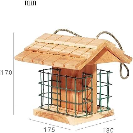 DNSJB Comedero para Pájaros, Estación De Alimentación De Pájaros ...