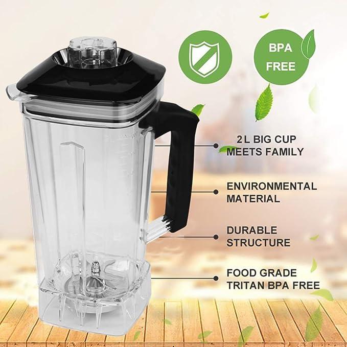 Procesador Temporizador Grado Libre de BPA Comercial Blender Mixer ...
