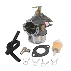 KIPA Carburetor for Kohler 4785322 4785323-S 4705313 K241 K301 10Hp 12Hp M10 M12 John Deere mower Cast Iron Engine 100 102 104 122 123 124 125 126 127 128 129 Cub Cadet Tractor Fuel filter gasket