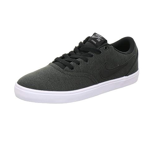size 40 03adc fbdd3 Nike SB Check Solar Cnvs PRM, Zapatillas de Skateboarding Unisex Adulto   Amazon.es  Zapatos y complementos