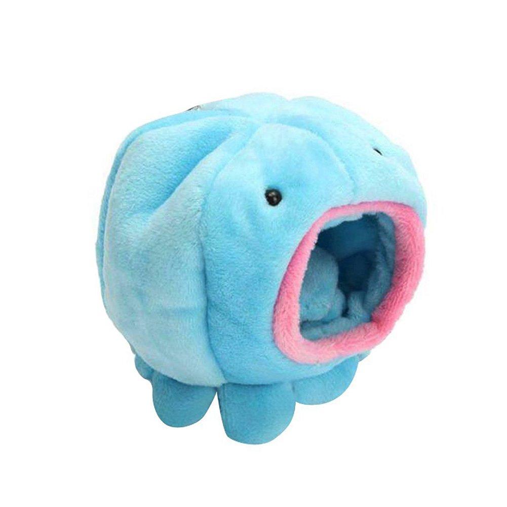 Azul Cupcinu Nido de h/ámster H/ámster Hamaca Alfombra para Mascotas Mini Nido de Animales Casa de cuy Casa de Dormir Hamster Forma de Pulpo 1pcs
