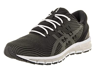 1b0d3b3410 ASICS Men's Gel-Quantum 360 4 Black/Dark Grey Running Shoe 12 Men US ...