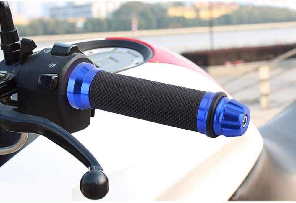 bicicleta bicicleta Azul motocicleta Empu/ñaduras de manillar agarre de manillar de goma para motocicleta para manillar de 7//8 1 par