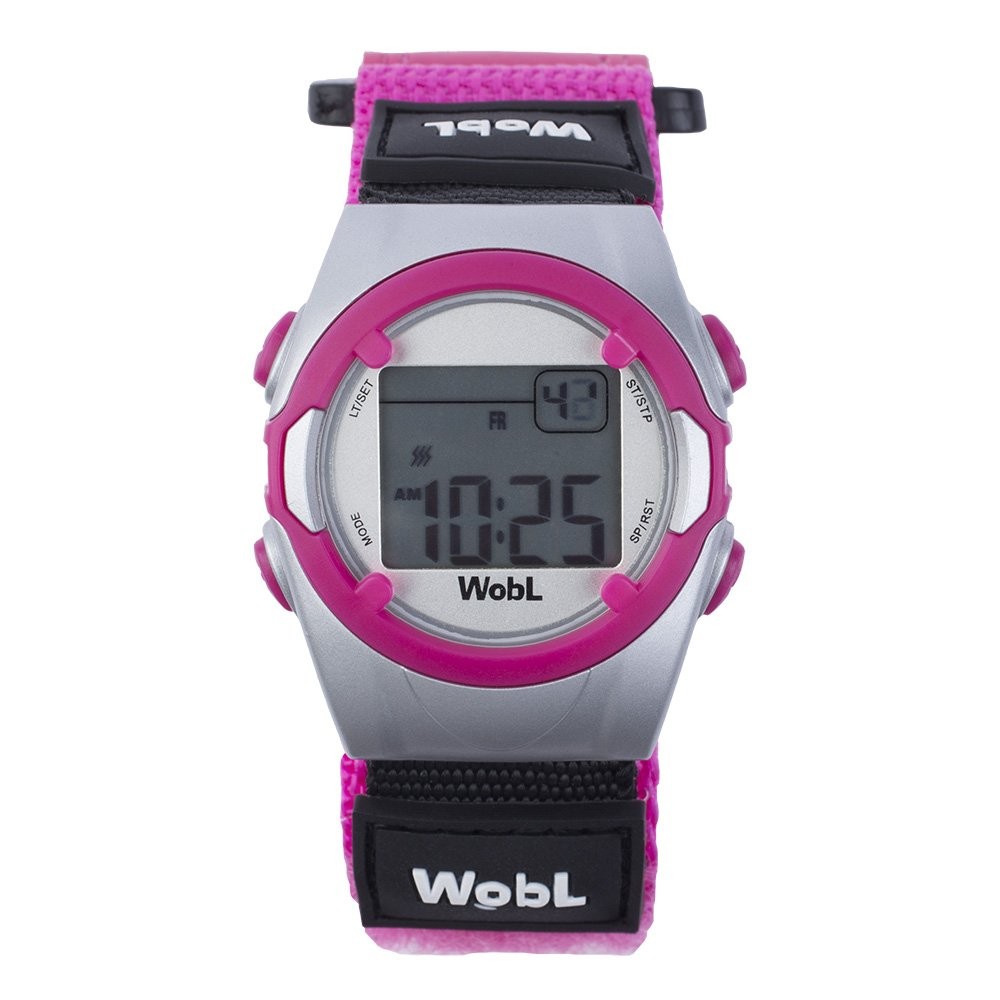 WobL - Pink 8 Alarm Vibrating Reminder Watch