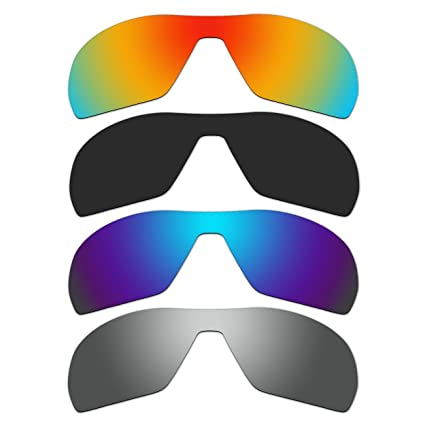 db70bcd25e2 Amazon.com  ACOMPATIBLE 4 Pair Replacement Polarized Lenses for Oakley  Offshoot Sunglasses Pack P1  Sports   Outdoors
