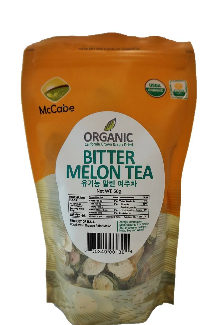 McCabe Organic Sun-Dried Bitter Melon Tea, 50g by McCabe