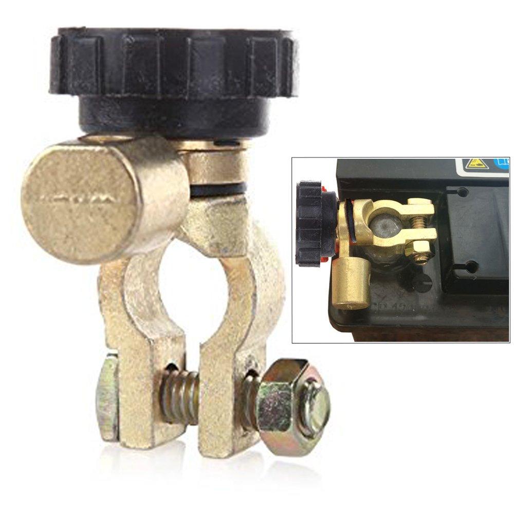 Langdy Commutateur d'isolateur de batterie, commutateur d'alimentation de batterie, commutateur de fuite de batterie, commutateur de déconnexion de batterie, commutateur de connexion à la borne, coupure, pièces de vé