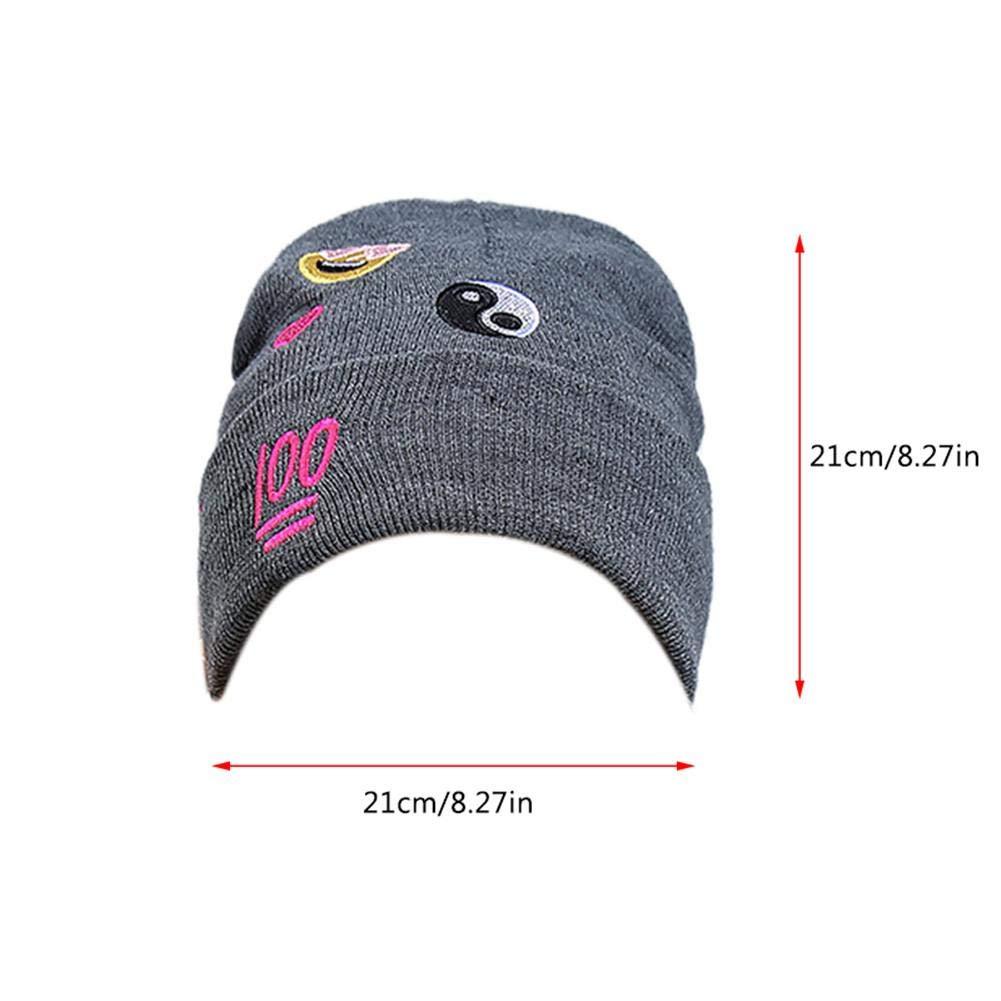 WangWtry Mujer Damas de Invierno Beanie Hat de Punto Personalizado ...