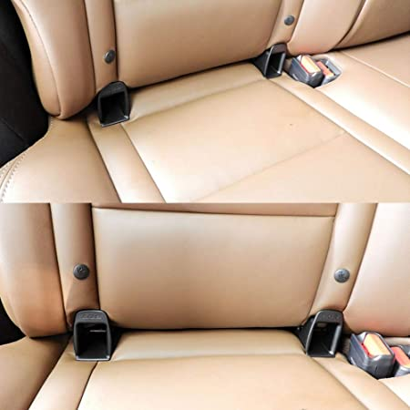 Vococal 1 par Universal Baby Child Car Safety Seat Latch Belt Buckle Connector Guía Groove Compatible con Isofix Mount