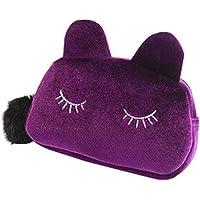 Mttheaw simpatico gatto della borsa cosmetici make up Storage Bag