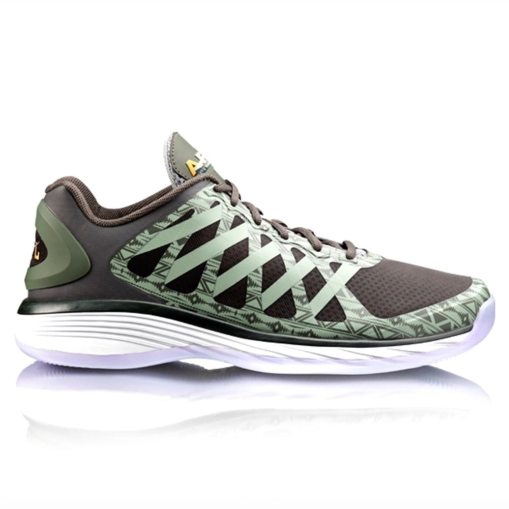c34c56ca7ab92 Athletic Propulsion Labs Men's Vision Low Soft Green/Gold/Mist Basketball  Shoe