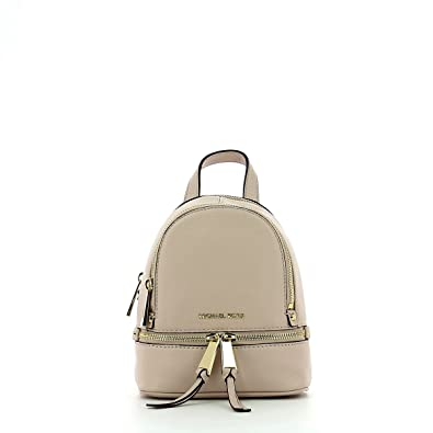 7c184d37ac49 MICHAEL by Michael Kors Rhea Zip Extra Small Soft Pink Backpack one size  Soft Pink