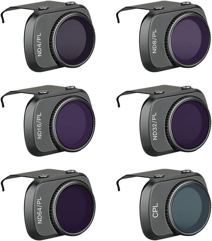 32-PL 8//16 FairOnly D-J-I MA-VIC Mini Aluminum Alloy ND Filters Set ND4//PL ND8//PL ND16//PL ND32//PL ND64//PL Lens Filters with Polarizer for D-J-I MA-VIC Mini 4K Drone Camera 4 Piece Set ND4