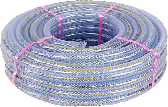 HYRGLIZI Manguera de jardín de PVC Transparente de Alta presión de explosión de tubería a Prueba de Agua (Color : 19mm, Size : 50M(164FT)): Amazon.es: Hogar