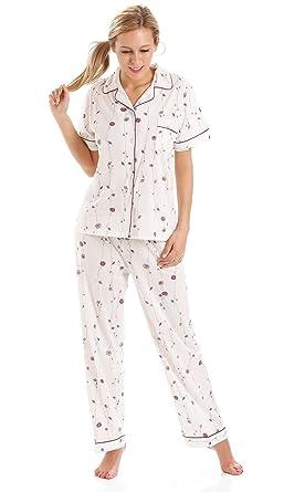 84960575f19c9 Women s Floral Jersey Cotton Nightie Nightdress