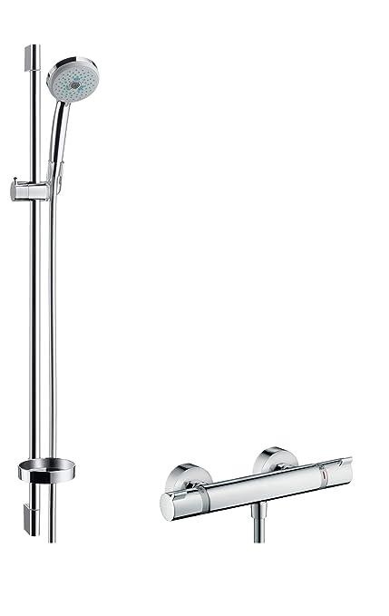 Bevorzugt hansgrohe Croma 100 thermostatic shower set 0.90 m, 3 spray modes QF62