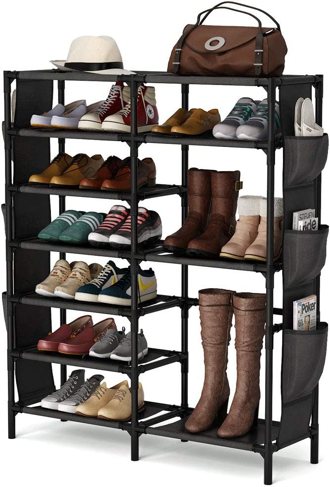 7 Tiers Shoe Rack 24-30 Pairs Shoe