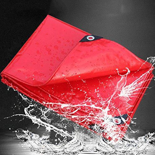 Names X 500 Full Colour - WUFENG Tarpaulin Stage Celebration Waterproof Sun Protection Rainproof Telescopic Shed Push-pull Canvas Shade Shelter Outdoor Thickness 0.45mm 500g/m2 (Color : Red, Size : 2x2m)