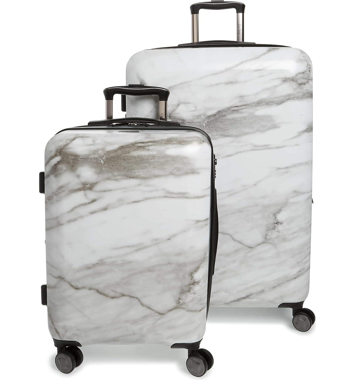 [カルパック] 22インチ&30インチスピナーラゲッジセット Calpak Luggage Set [並行輸入品] (Milk Marble, One Size) B07SJTPCHV Milk Marble One Size