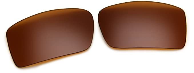 Oakley Gascan 13 504 Polarized Rimless Sunglasses,Multi Frame/Bronze  Lens,One