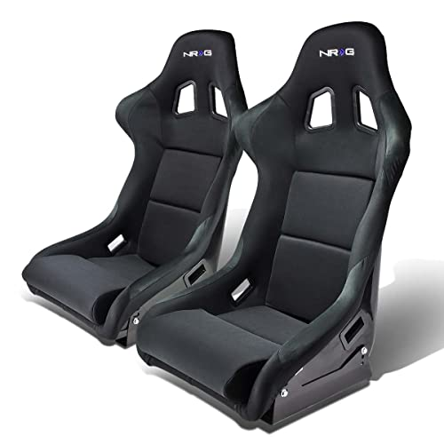 NRG FRP-310 Pair of Fiber Glass Bucket Style Racing Seats