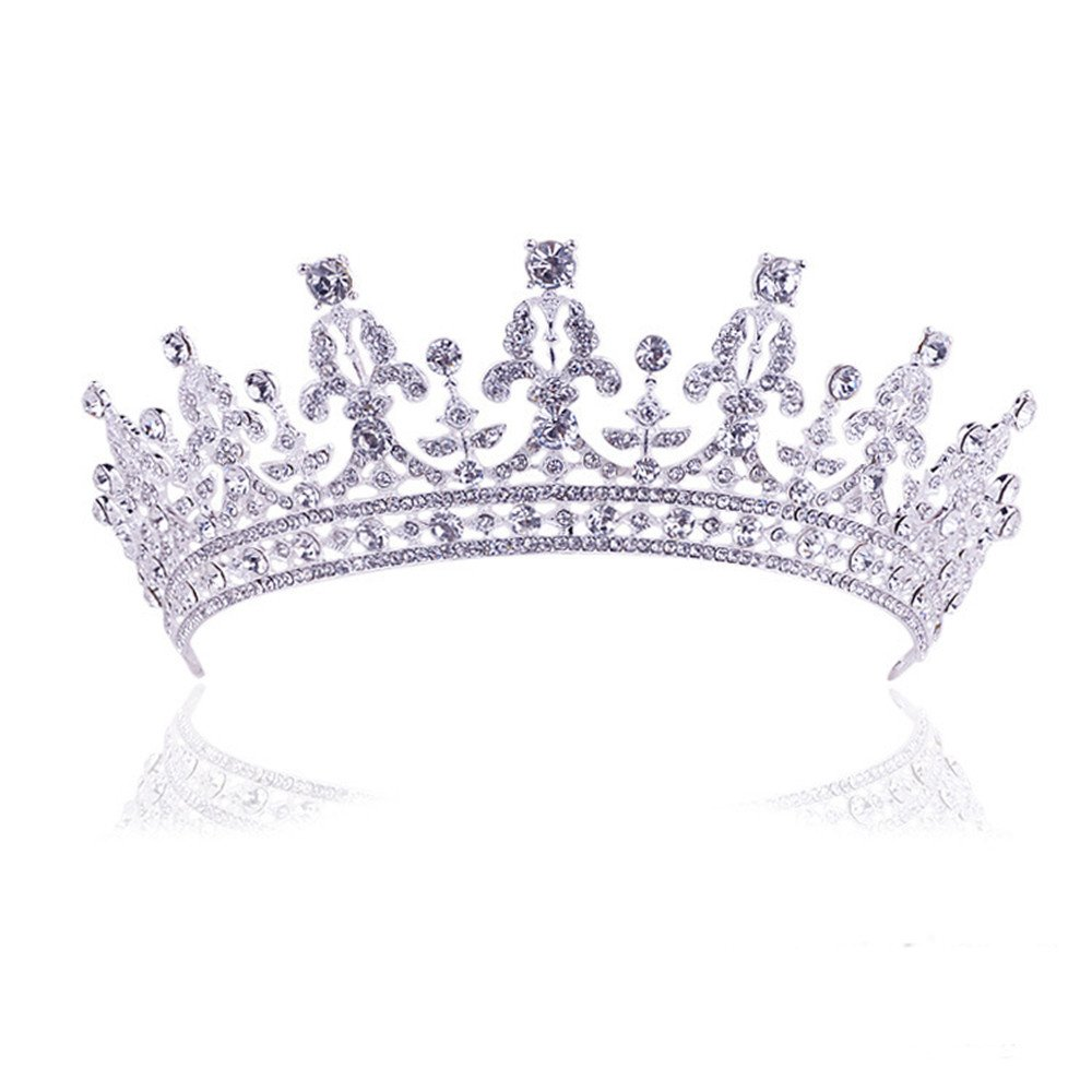 Amazon Com Wedding Prom Queen Crown Pageant Crowns Princess Crown