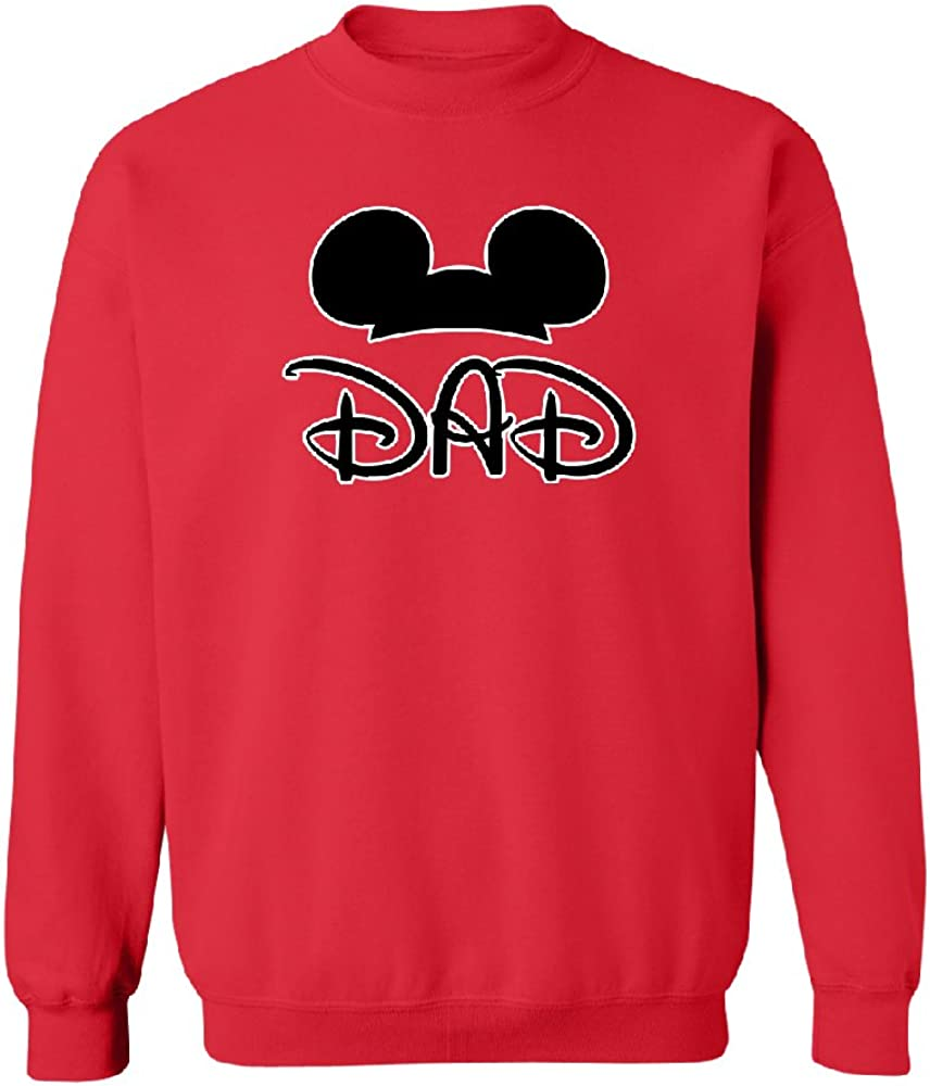 Dad Family Funny Summer Trip Unisex Crewneck Funny Cool Couple Shirt Sweater