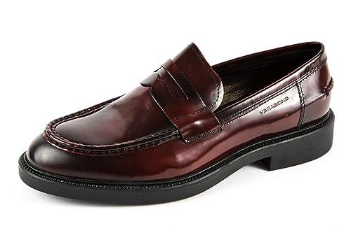 Vagabond VB-320-4466-204 - Mocasines de Charol para Hombre Rojo Rojo 4466-204, Color Rojo, Talla 42 EU: Amazon.es: Zapatos y complementos