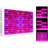 Morsen 2400W LED Grow Light 2 Dimmer On Off Switch Full Spectrum for Hydroponic Indoor Greenhouse / Garden Plants Growing
