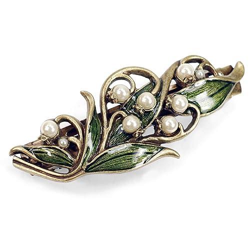 Amazon.com: Lily Of The Valley Pasador para, accesorios para ...