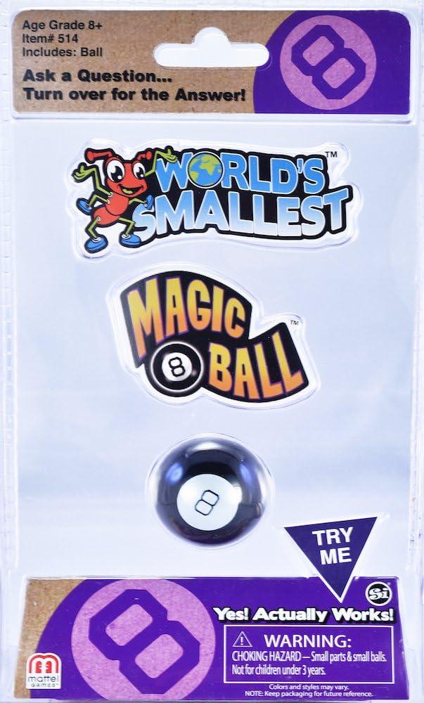 Worlds Smallest Magic 8 Ball