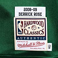 detailed look 19a00 5435b Amazon.com : Mitchell & Ness Derrick Rose Chicago Bulls ...