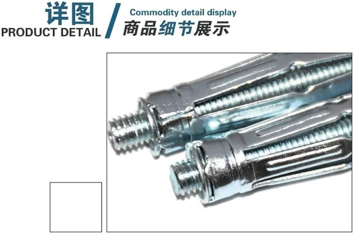 M5 M8 Hollow Gecko Gypsum Ceiling Expansion Screw Bolt Hollow Curtain Wall Casing Plane Expansion Fastener M4 M6 Length : 6pc M8 x 65mm