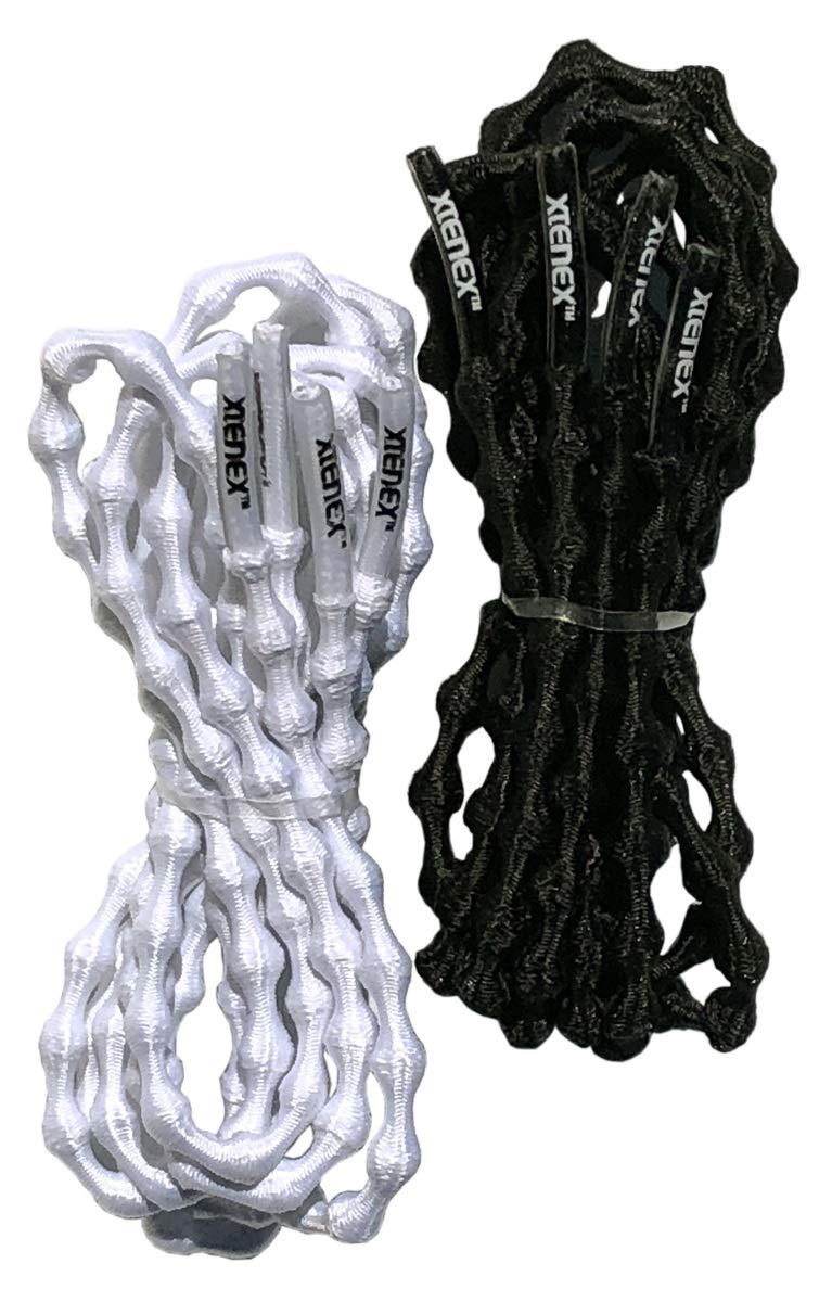 XTENEX No-Tie Elastic Shoelaces 2-Pack