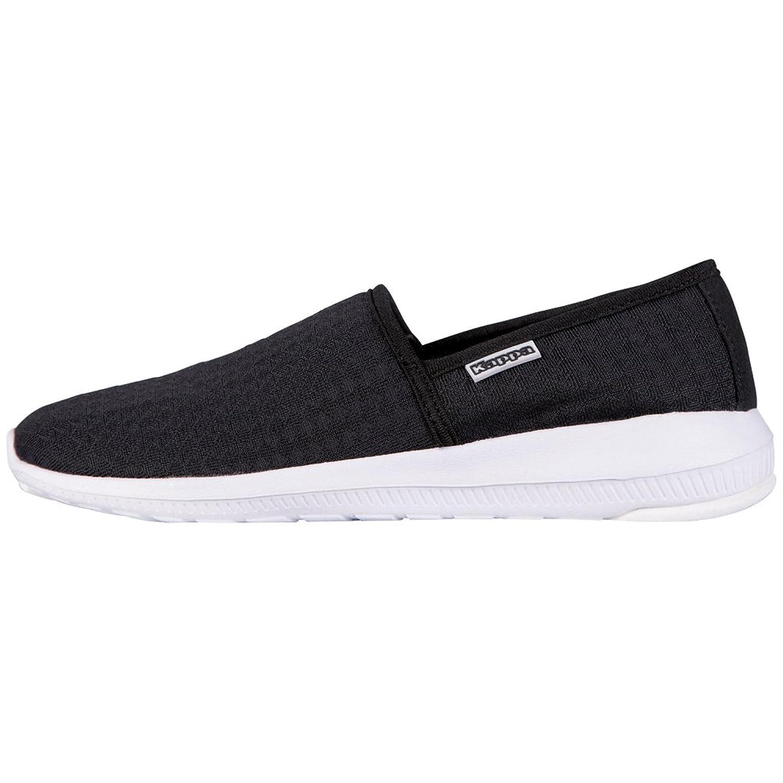Kappa Damen Cosy Sneakers Schwarz (1110 Black/White)2018 Letztes Modell  Mode Schuhe Billig Online-Verkauf